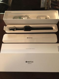 Apple Watch Black In Color Series 3 Basically Brand New!
