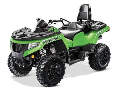 2017 Arctic Cat Alterra TRV 700 XT EPS Utility ATVs Mandan, ND