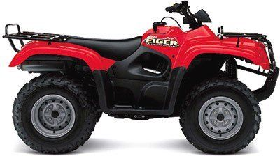 2003 Suzuki Eiger 400 Automatic 4x4 Utility ATVs Milford, NH