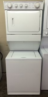 "Whirlpool 27"" Stackable Washer and Electric Dryer Unit"