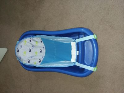 Baby Bath Tub with 2 Infant Slings