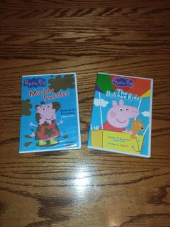 New 1 sealed 2 Peppa pig Dvds both for $15 has 22 episodes.