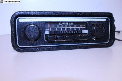 Sapphire XVI AM FM 12V Radio