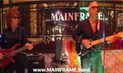 MAINFRAME Classic Rock Duo Band For Hire