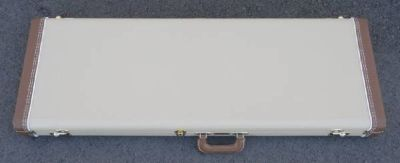 Fender CUSTOM SHOP Stratocaster Case - Blond W/ Ivory Poodle Int - NEW