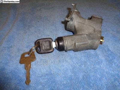 VW OG Scirocco Dasher Ignition Base w/ Keys