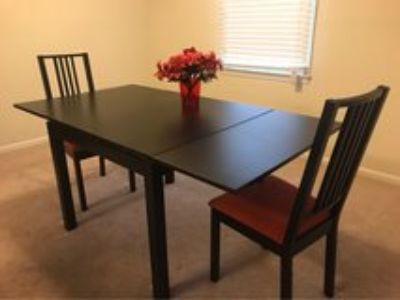 IKEA Extendable Table & 2 Chairs