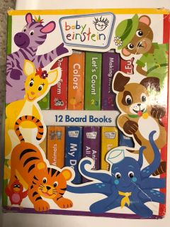 Baby Einstein 12 Board Book Set