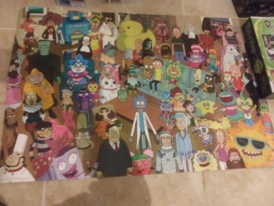 Rick and morty collection!
