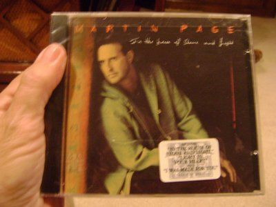 Martin Page CD -- Sealed