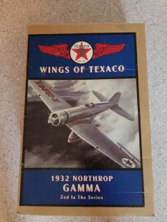 Wings of Texaco - 1932 Northrop Gamma Airplane Bank- 2nd in the series