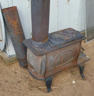 Wood pot belly stove