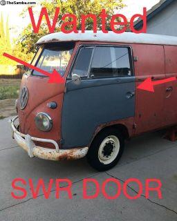 [WTB] Commercial SWR Driver Door wanted