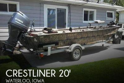 2015 Crestliner 2070 Retriever Jon