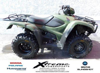 2013 Honda FourTrax Foreman 4x4 ES Utility ATVs Tampa, FL