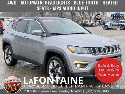 2018 Jeep Compass Limited (Billet Silver Metallic Clearcoat)