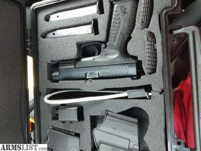 For Sale/Trade: Springfield XDm 40 4.5 Essential Package *WITH EXTRAS!!* Trijicon, G-Code