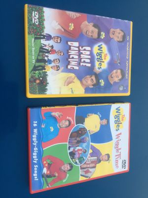 The Wiggles dvd lot