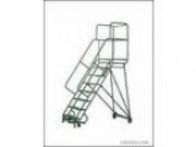 Rolling ladder heavy duty industrial safety (Cedar lake)