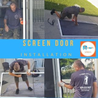 screen door repair /installation