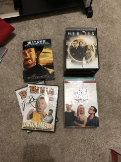 Boxed dvds