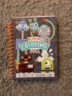 Hard cover Monster coloring book