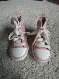 Pink and gold Old Navy sneakers - 5