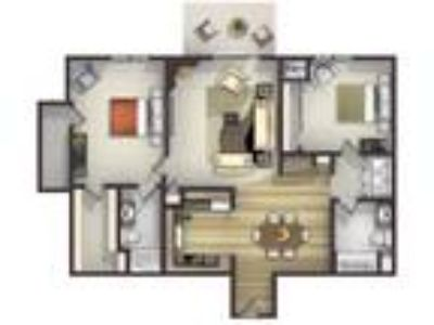 Highlands at River Crossing Apartments 55+ - Two BR, Two BA with Fireplace*