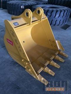 "Emaq 42"" Excavator Bucket - Fits Cat 315 - Unused"
