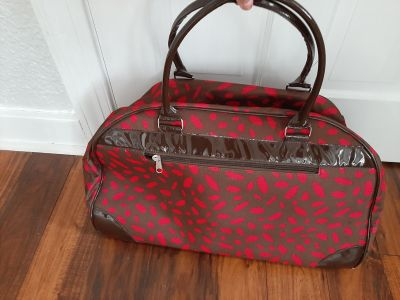 Rolling Pull Along Carry On Luggage Bag (used once)