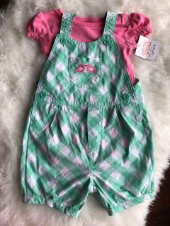 NWT Carter s outfit sz 12 months