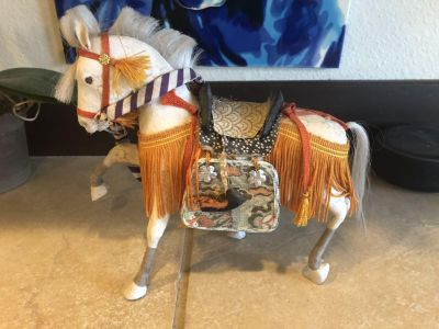 Antique Decorative Horse - 6.5 Tall Great Condition!