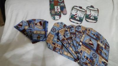 Kitchen Potholders, Towels, etc. (1c
