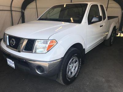 2007 Nissan Frontier SE (White)
