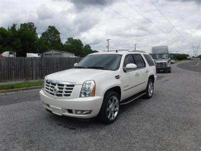 2011 Cadillac Escalade Luxury (White)