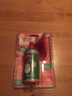 Christmas in a can sings