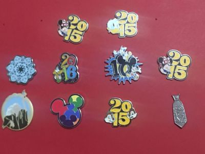 Walt Disney World collectible trading pins