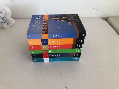 DVDs for sale! House Seasons 1-6