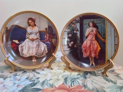 Set of 9 Rockwell's Rediscovered Women Collection. Set of 9.