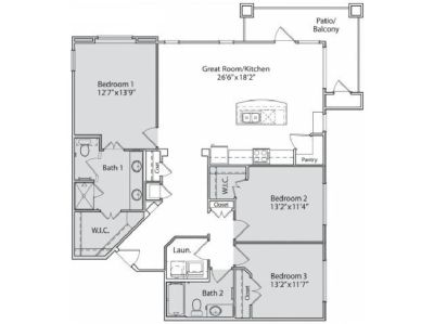 Cedar Park, The Allure Apartment;  Short-term at a 12-month price.
