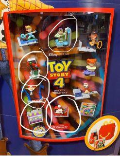 ISO Toy Story 4 McDonalds Toys