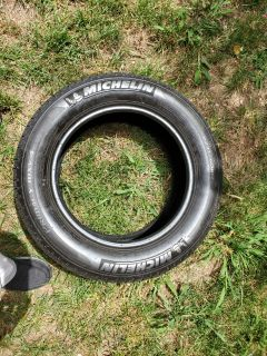 Used Michelin tires (2) details/size in pics, $20 each