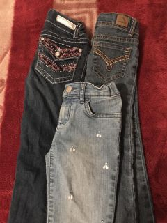 Blue jeans for girls size 5