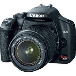Cannon Rebel XSI DSLR Camera plus extra lens and accessories