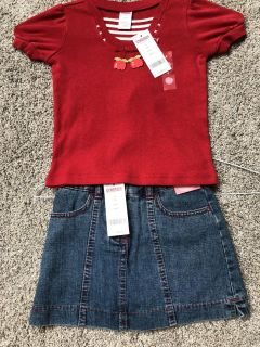 NWT Gymboree girl size 4 outfit