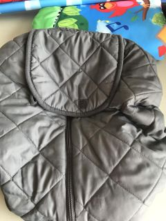 Reversible Infant Car Seat Cover