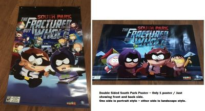 Promo South Park The Fractured But Whole Video Game Poster Full Size