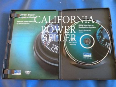 Buy 06 07 BMW 325i 330i 325ci 330ci 330xi Navigation DVD CD motorcycle in Escondido, California, United States, for US $56.88