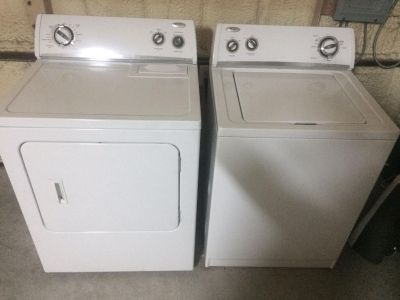 Whirlpool Washer & Dryer- all electric