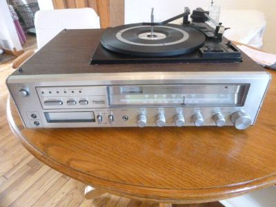 Vintage Imperial Turntable and Tuner